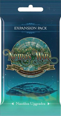 Nemo's War 2nd Edition Nautilus Upgrades Expansion Pack