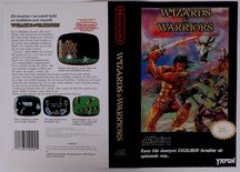 Wizards & Warriors (Original YAPON Rental Cover Paper)