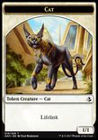 Cat Token 1/1 - Amonkhet