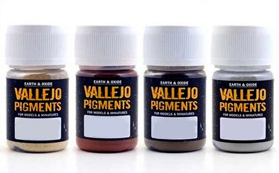 Vallejo Pigments: Dark Red Ochre 73107