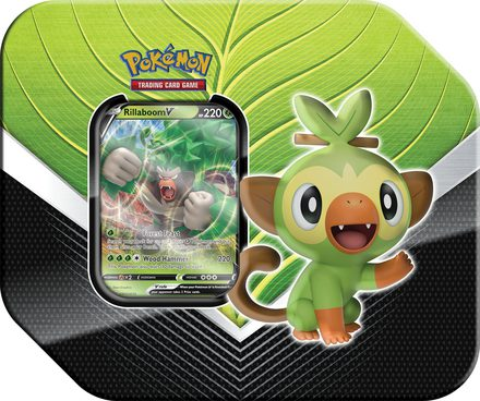 Pokemon Galar Partners Spring Tin 2020: Rillaboom V