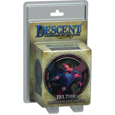 Descent (2nd Ed): Belthir Lieutenant Pack