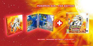 Pokemon Sun Fan Edition - Nintendo 3DS