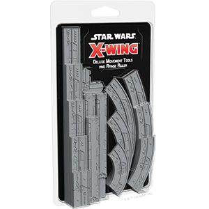 Star Wars X-Wing Second Edition: Deluxe Movement Tools and Range Ruler