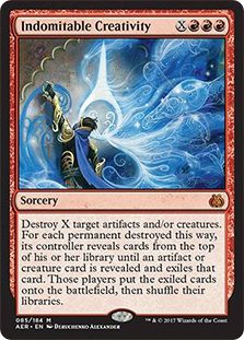 Indomitable Creativity - Aether Revolt