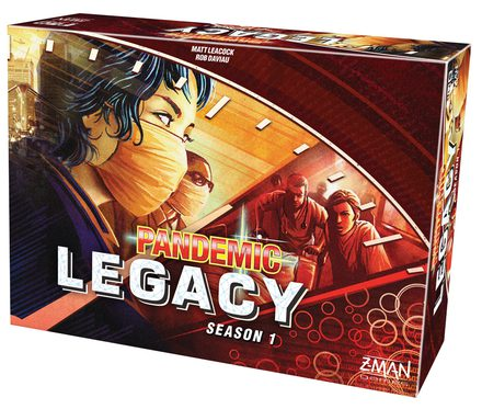 Pandemic Legacy: Season 1 (Red version)