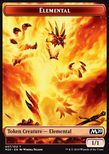 Elemental TOKEN Red 1/1 - Core 2020