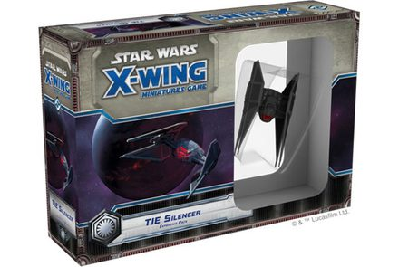 Star Wars X-Wing Miniatures Game: TIE Silencer Expansion Pack