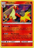 Blaziken 6/70 - Sun & Moon Dragon Majesty