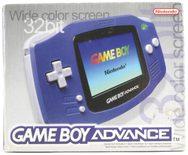 Game Boy Advance Console (Indigo Purple)