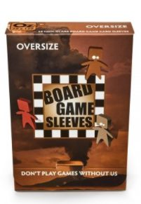 Arcane Tinmen Board Game Sleeves Non-Glare, Oversize 82x124mm (50ct)