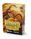 Dragon Shield Small Sleeves Matte Orange (60ct)