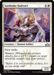 Sunhome Stalwart - Guilds of Ravnica