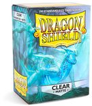Dragon Shield Sleeves Standard Size Matte Clear (100ct)