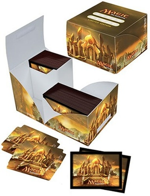 Ultra Pro Deck Box, Pro Dual, Modern Masters Combo, includes Sleeves (80pcs)