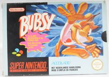 Bubsy in Claws Encounters of the Furred Kind - SNES