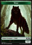 Wolf TOKEN Green 2/2 - Core 2020