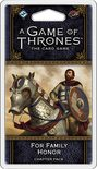 A Game of Thrones LCG (2nd Ed): For Family Honor