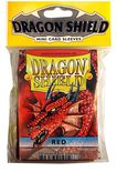 Dragon Shield Small Sleeves Red (50ct)