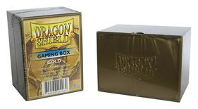 Dragon Shield Deck Box, Gold
