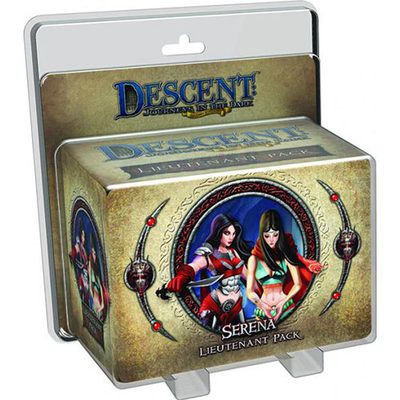 Descent (2nd Ed): Serena Lieutenant  Pack