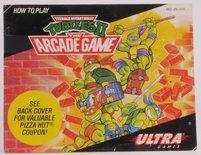 Teenage Mutant Ninja Turtles II: The Arcade Game (Manual)