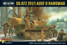 Bolt Action Sd.Kfz 251/1 AUSF D Hanomag Halftrack
