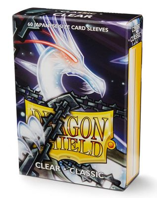 Dragon Shield Sleeves Japanese Size Clear (60 ct)