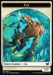 Cat 2/2 // Spirit x/x TOKEN - Commander 2015