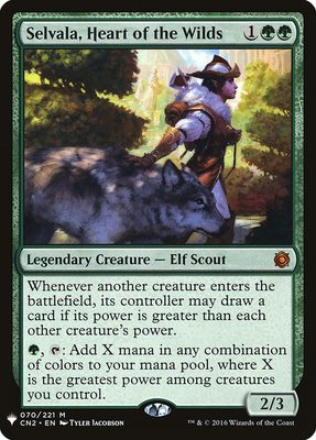 Selvala, Heart of the Wilds - Mystery Booster