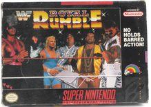 EMPTY BOX - WWF Royal Rumble (manual + box only, no game!)