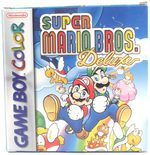 EMPTY BOX - Super Mario Bros. Deluxe  (manual + box only, no game!)