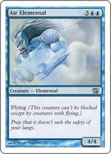 Air Elemental - 8th Edition