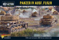 Bolt Action Panzer IV Ausf. F1/G/H medium tank