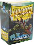 Dragon Shield Sleeves Matte Green (100pcs)