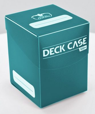 Ultimate Guard Deck Box, 100+ Petrol Blue