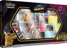 Pokemon Detective Pikachu On the Case Figure Collection Box