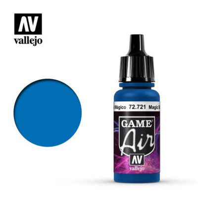 Vallejo Game Air: Magic Blue 72.721