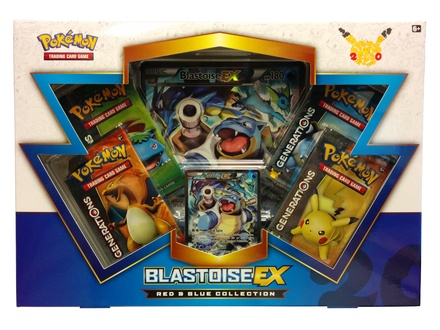Blastoise EX Red & Blue Collection