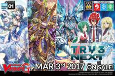 Cardfight Vanguard G Character Set 1: Try3 Next Booster Display Box