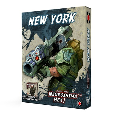 Neuroshima Hex! 3.0: New York