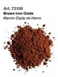 Vallejo Pigments: Brown Iron Oxide 73108