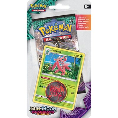 Pokemon SM2: Sun & Moon Guardians Rising Checklane Blister Lurantis