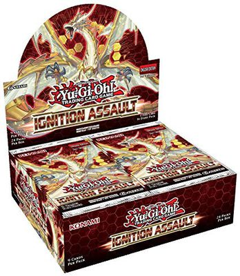 Yu-Gi-Oh Ignition Assault Booster Display Box