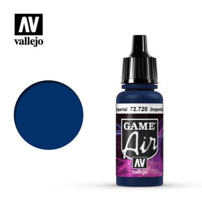 Vallejo Game Air: Imperial Blue 72.720