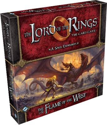 Lord of the Rings LCG: Flame of West Saga Expansion