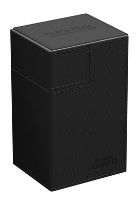 Ultimate Guard Deck Box, Flip'n'Tray Xenoskin 80+ Black