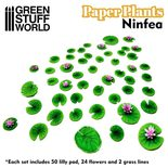 GSW Paper Plants: Lilly Pads