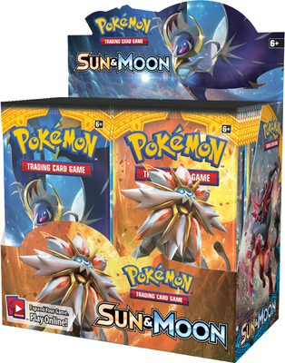Pokemon SM1: Sun & Moon Booster Display Box
