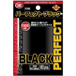 KMC Standard Sleeves Perfect Black (80ct)